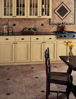 Beautiful Tile Flooring and Backsplash for your Home
